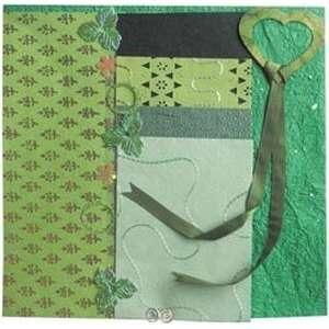 Treasure Chest Scrapbook Kit   Emerald