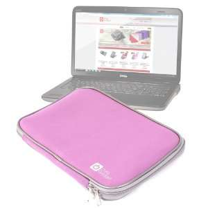 Laptop Case In Stylish Pink For Dell XPS 15z, 15 L502x, Inspiron 15