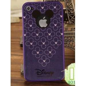 Disney Mickey Purple Hard Case Premium design Cover Skin
