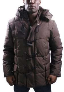 SEAN JOHN Snorkel Down Toggle Parka Mens Coat Jacket Faux
