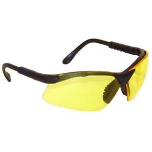 RADIANS RV0140 Revelation Safety Glasses Amber Lenses Black Frame