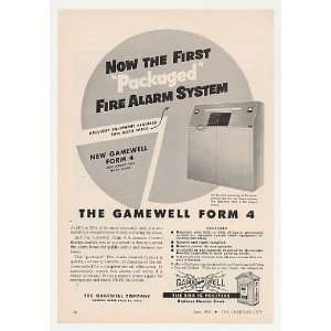 1955 Gamewell Form 4 Fire Alarm System Print Ad: Home & Kitchen