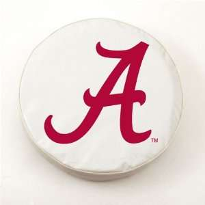 Alabama Crimson Tide Logo Tire Cover (White) A H2 Z