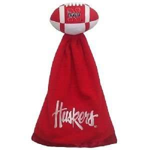 Nebraska Cornhuskers Plush NCAA Football with Attached