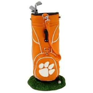Clemson Tigers Golf Bag Pen Holder