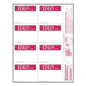 Valentines Day   Small Item Price Shelf Signs (800pk)   3