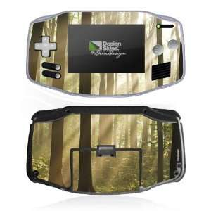 Design Skins for Nintendo Game Boy Advance   In the forest