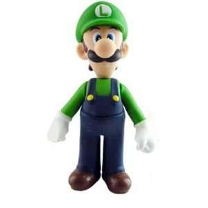 Super Mario Brother PVC 5 Figure Luigi Toys & Games