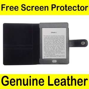 Mochie (tm) Genuine Leather Pouch Case Cover Jacket for  Kindle
