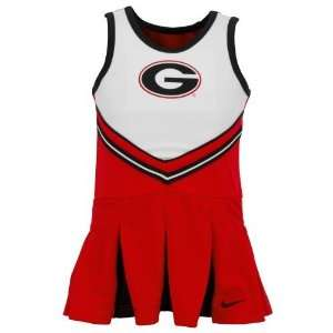 Nike Infant/Toddler Girls Georgia Cheerleader Set: Sports & Outdoors