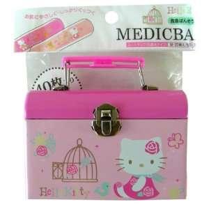 Sanrio mini tin box  Hello Kitty medicban (pink) Toys & Games