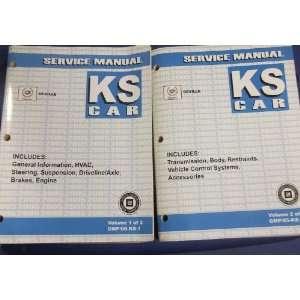 Repair Shop Manual Set FACTORY OEM 05 BOOKS (2 volume set) gm Books