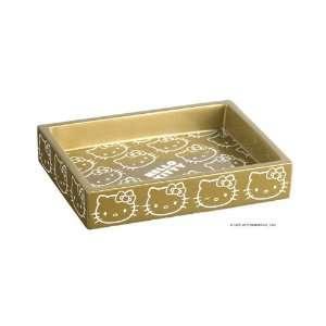 Hello Kitty Soap Dish GOLD