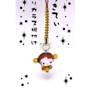 Sanrio Hello Kitty Chinese Zodiac Glass Netsuke Cell Phone