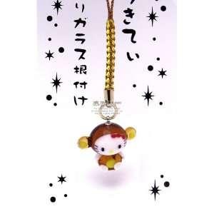 Sanrio Hello Kitty Chinese Zodiac Glass Netsuke Cell Phone