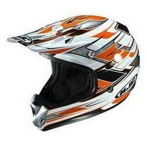HJC AC X2 ACX2 LAUNCH MC6 WHITE/FLAT ORANGE/BLACK MOTORCYCLE Off Road