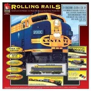 Lifelike 153711 HO Scale Train Set   Rolling Rails Diesel