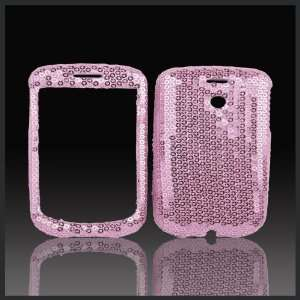 Baby Pink Sequins Sequins bling case cover for HTC MyTouch