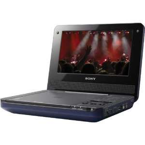 Multi System 7 inch Class Portable DVD Player   Blue Electronics