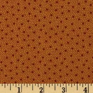 Dots Burnt Orange Fabric By The Yard jo_morton Arts, Crafts & Sewing