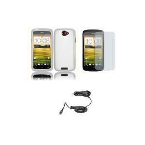 Cover Case + Car Charger + Screen Protector + FREE Zombeez Key Tag