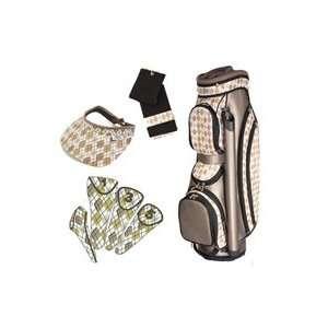 Glove It Ladies 4 Piece Golf Cart Bag Combos   Desert