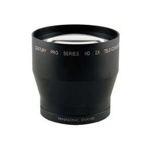 Optics 0HD 20TC DVX 2x Telephoto Converter Lens Camera & Photo