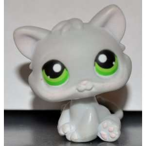 Kitten #88 (Grey, Green Eyes) Littlest Pet Shop 2005