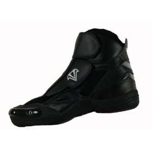 Vega Merge Mens Motorcycle Boots (Black, Size 12