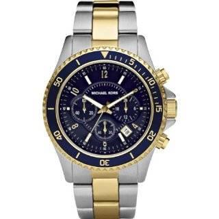 Michael Kors Watches Michael Kors Mens Sport Dual Toned Navy Blue Dial