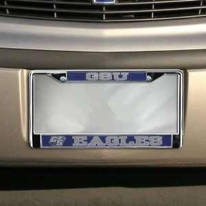 Georgia Southern Eagles Chrome License Plate Frame Automotive