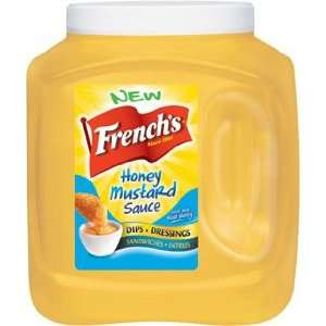 Frenchs Honey Mustard Dipping and Topping Sauce   110 oz