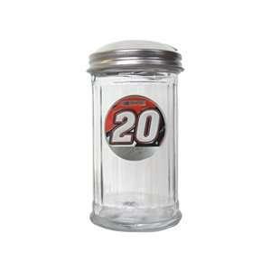 NASCAR Tony Stewart #20 Glass Sugar Pourer Sports