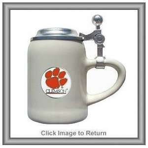 Set of 2 NCAA Clemson Tigers Ceramic Shot Glasses Sports