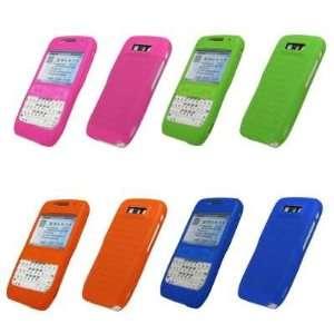 Cover Cases (Blue, Orange, Hot Pink, Neon Green) for Nokia E71x / E71