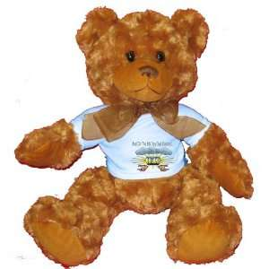 And On The 8th Day God Created ORGANS Plush Teddy Bear with BLUE T