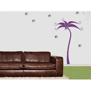 Wall Sticker Decal Palm Tree 155x95cm xxl