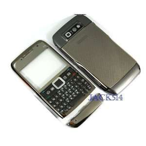 NEW HOUSING ** For NOKIA E71 Full Housing Gray&silver +NEW