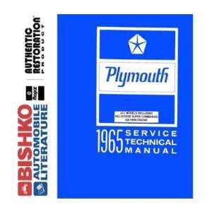 1965 PLYMOUTH BELVEDERE FURY VALIANT etc Shop Manual CD