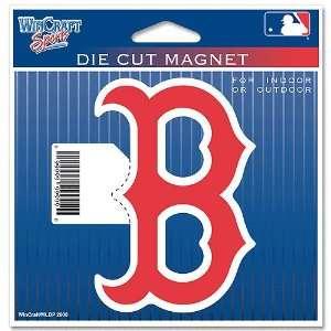 Boston Red Sox Mlb Die Cut Magnet Wincraft  Sports