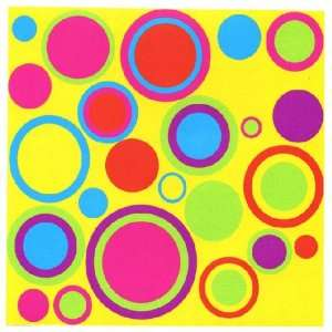 and Circles 44 Reusable and Removable Wall Stickers