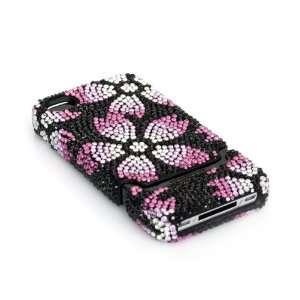 Case TM Luxury Pink Crystal Bling Rhinestone Slider Full Cover Case
