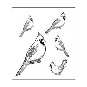 New   Heartfelt Creations Cling Rubber Stamp Set 5X6.5 by