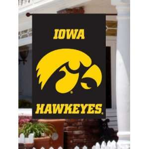 University of Iowa Hawkeyes 2 Sided Screen Print Flag