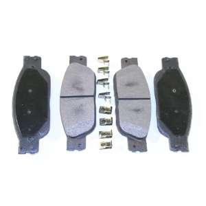 Prime Choice Auto Parts SMK933 Premium New Semi Metallic Front Brake