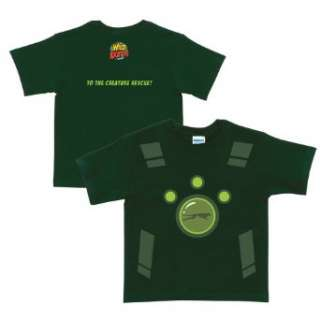 Wild Kratts Creature Power Suit Forest Green T Shirt: Clothing