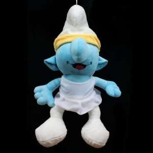 Smurfs Cute Stuffed Plush Doll Toy Style 2   20 Blue Toys & Games