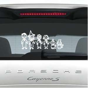 03 Stick People Kit Car or Wall Vinyl Decal Stickers