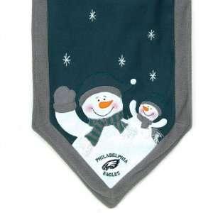 Philadelphia Eagles Snowman Table Runner  Sports