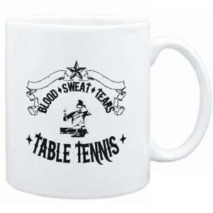 Mug White  BLOOD / SWEAT / TEARS  Table Tennis  Sports